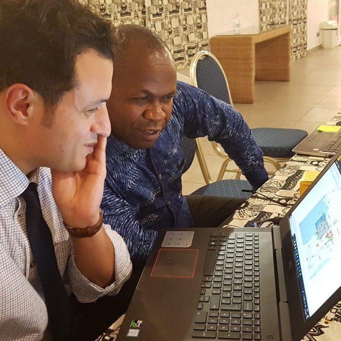 Using new multi-dimensional data techniques to explore cassava diseases in West Africa