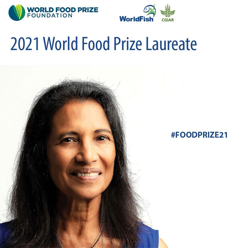 The future is fish: World Food Prize given to aquatic food systems expert